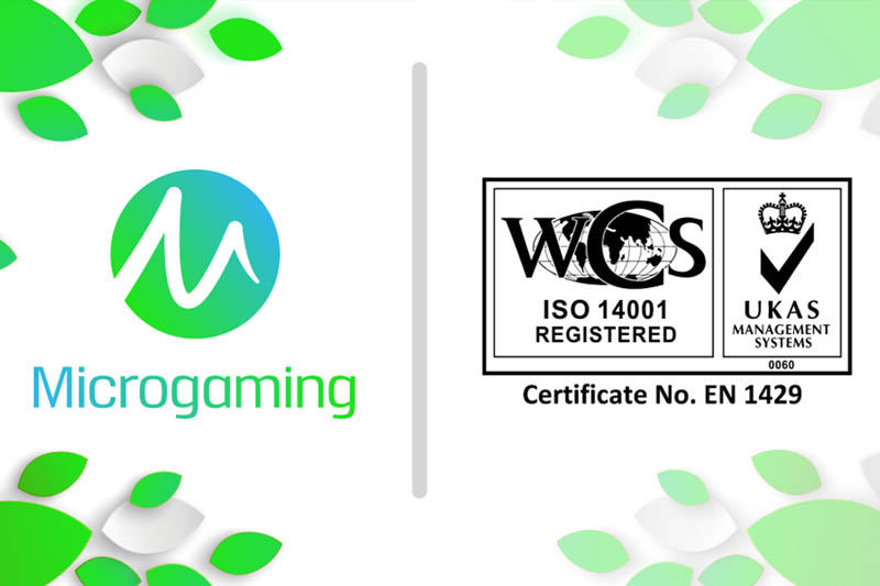 On World Environment Day Microgaming Celebrates International Organization for Standardization