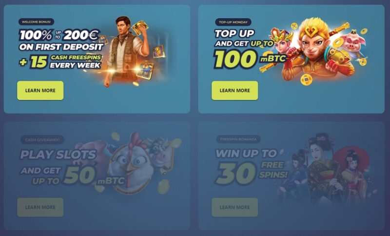 Casinoin Bonuses And Promotions