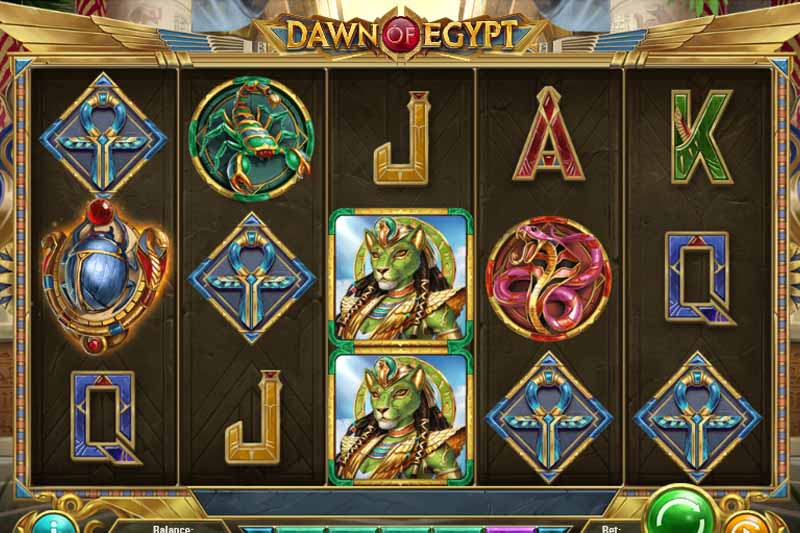 Dawn of Egypt - Play'n Go