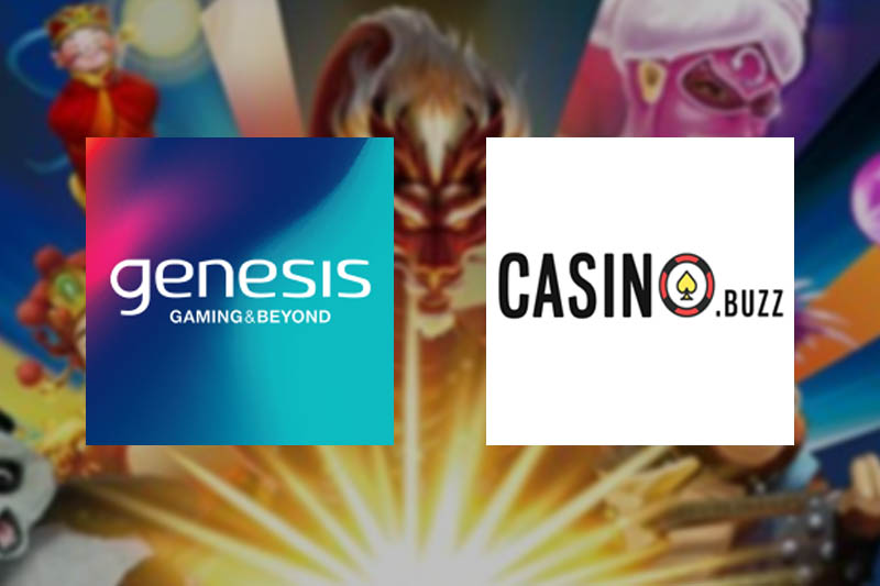 Game Developer Genesis Gaming Partners With Casino Buzz