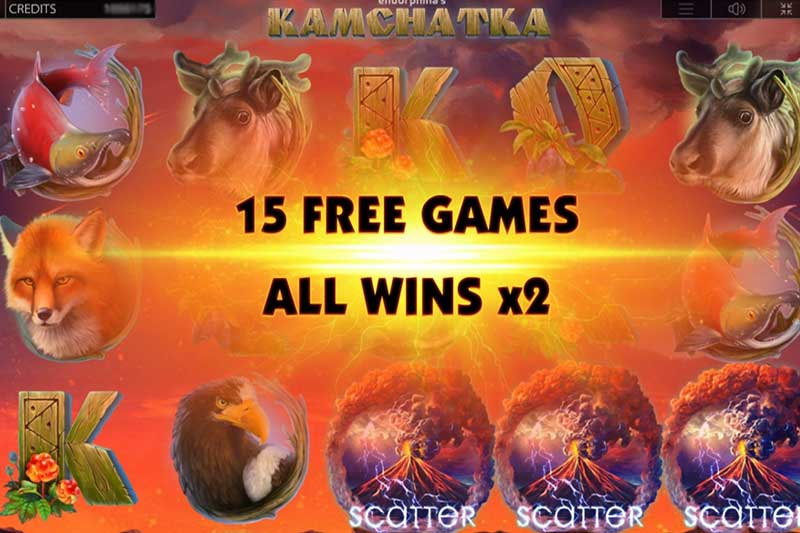 Kamchatka Features Free Spins