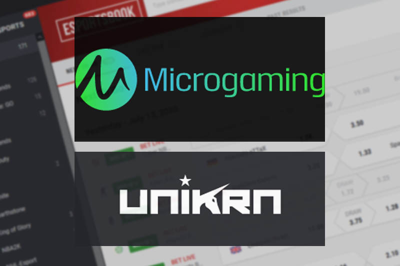 Microgaming Pleased To Announce Partnership With eSports Betting Firm Unikrn