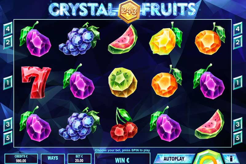 243 Crystal Fruits Reversed Is The Newest Slot From Tom Horn Gaming