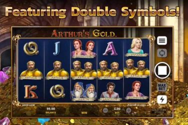 First Gold Coin Studios Game Arthur's Gold Release By Microgaming