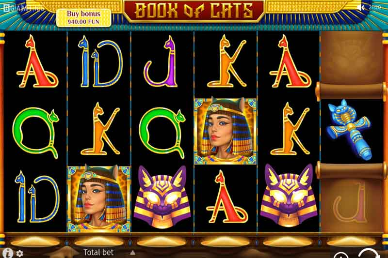 BGaming's Book Of Cats Has Landed At Online Casinos