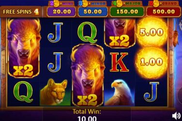 Buffalo Power Hold and Win - Playson's New Slot Release
