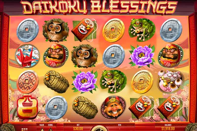 Daikoku Blessings - New Online Slot By Rival Powered