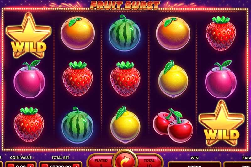 NetGame Entertainment Release Fruit Burst Slot
