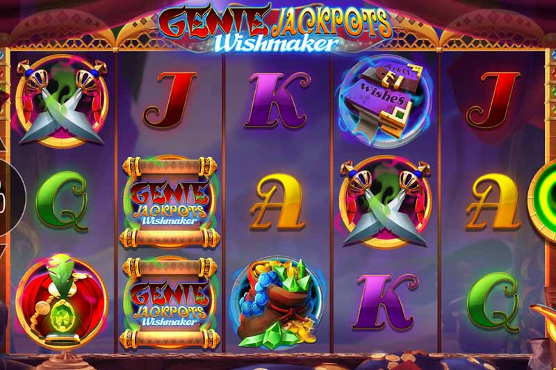 Genie Jackpots Wishmaker - New Blueprint Gaming Slot With Big Money Bonus