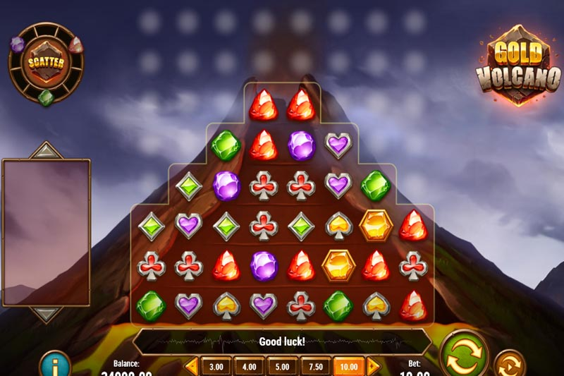 Gold Volcano Slot - New Revolutionary Slot Release From Play'n Go