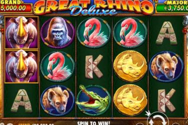 Pragmatic Play's Great Rhino Deluxe Slot Available Now
