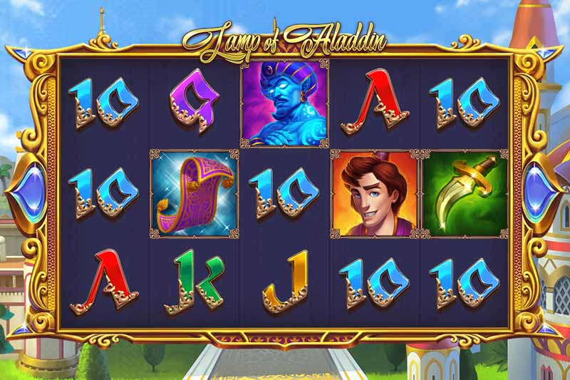 Lamp of Aladdin - 1x2 Gaming's New Ancient Arabian Slot