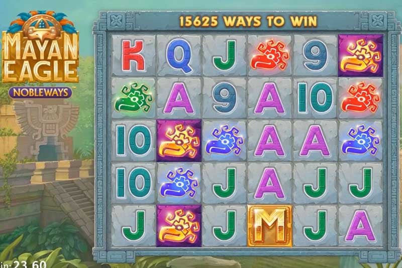 Mayan Eagle - New Nobleways Slot Release By All41 Studios