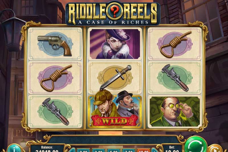 Riddle Reels A Case of Riches - Play'n Go's New Detective Slot Release