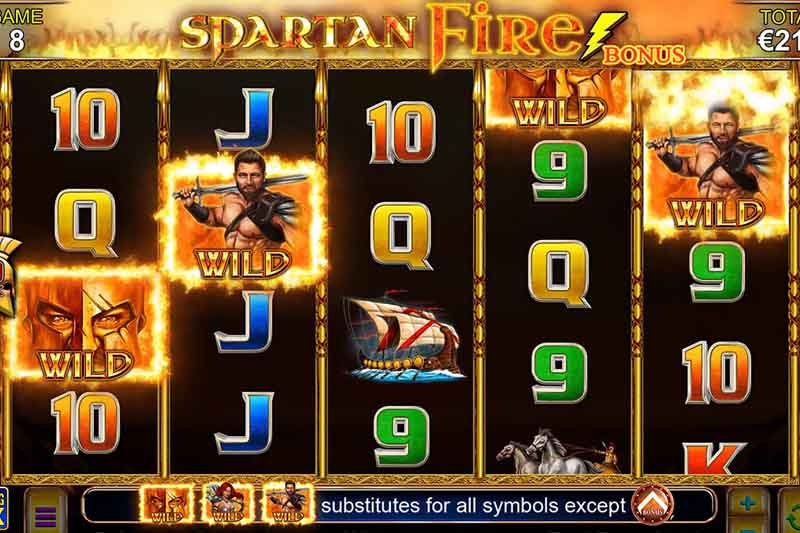 Lightning Box's Spartan Fire Slot Is Out To Play Now
