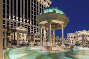 Las Vegas Casino Hotel Nobu Hotel Caesars Palace Re-opens For Business