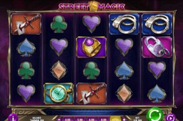 Street Magic Slot - Play'n Go's 4 Row Slot With Free Spins