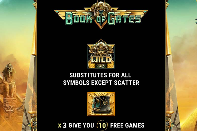 Book Of Gates Free Spins