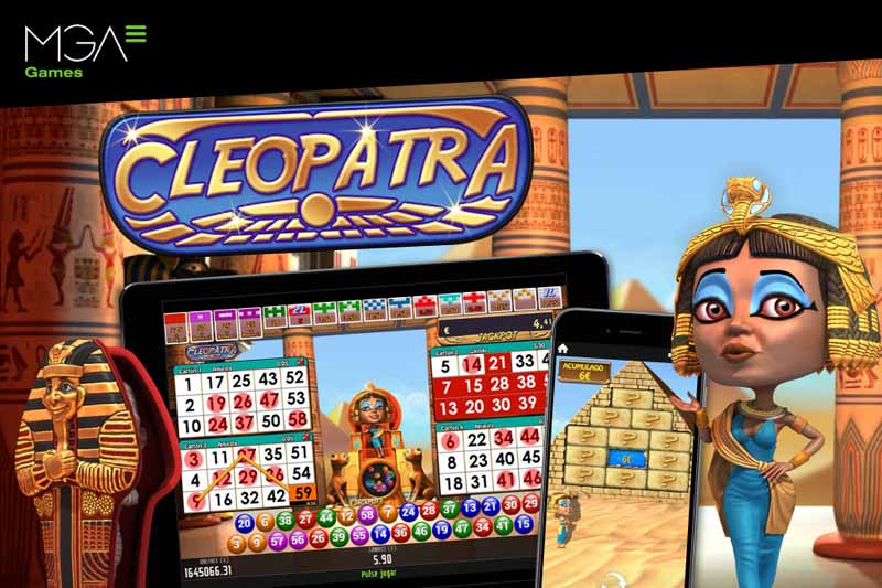 MGA Games Launch Cleopatra Inspired Ancient Egypt Video Bingo