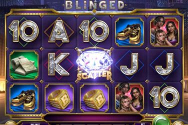 Blinged - New Win Spin Online Slot From Play'n Go
