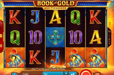 Book Of Gold Multichance - New Online Slot From Playson