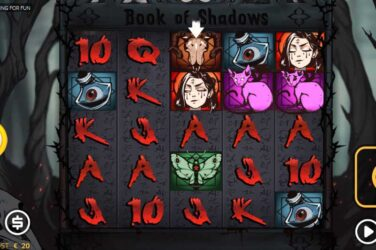 Nolimit City's Latest Horror Slot Book of Shadows