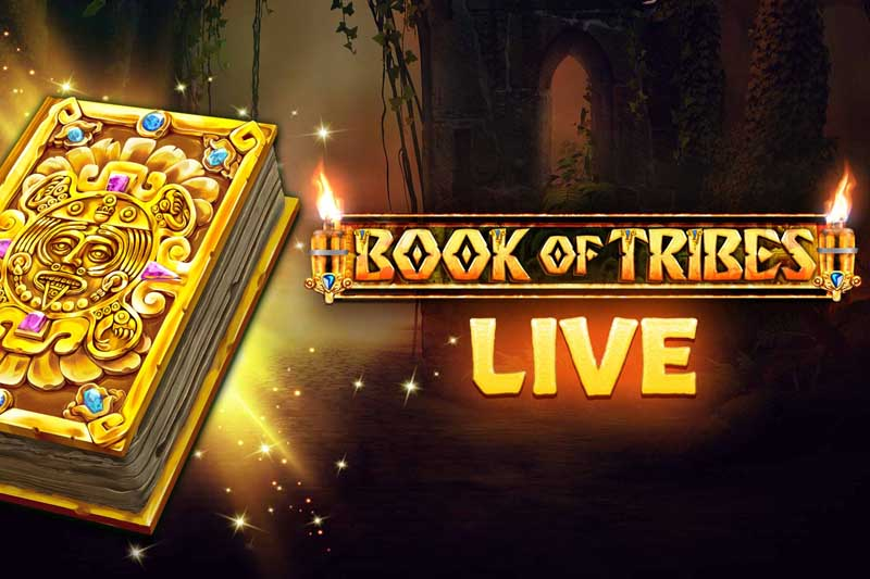 Spinomenal's Book Of Tribes Online Slot Is Live