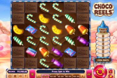 Wazdan's Chocolate Candy Themed Slot Choco Reels Goes Live