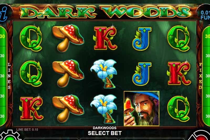 Dark Woods - New Cascade Slot Release By CT Gaming