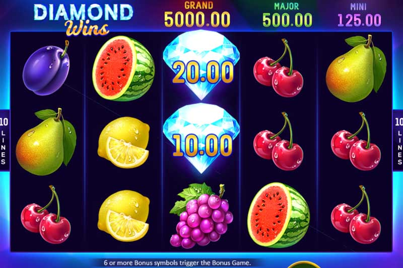 Diamond Wins Hold and Win - Playson New Slot Release