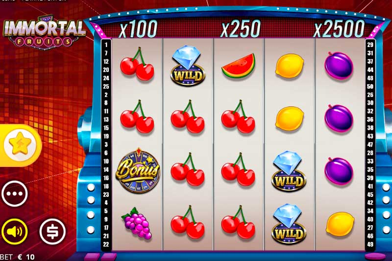 Immortal Fruits - New 50 Line Slot From Nolimit City