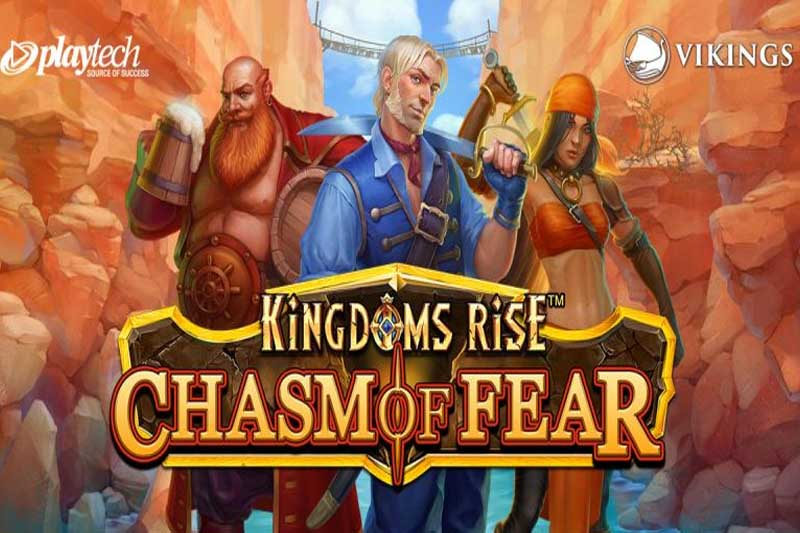 Kingdoms Rise Chasm of Fear - Playtech's Latest Jackpot Video Slot