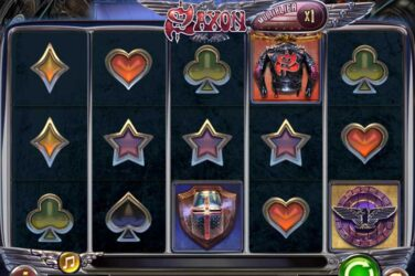 Saxon - Play'n Go's British Heavy Metal Band Slot