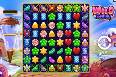 Wild Candy - New Candy Crush Style Cluster Slot From PariPlay