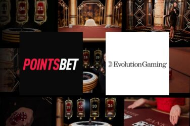 PointsBet Adds Evolution Gaming's Live Casino Games To Its Offering