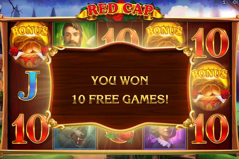 Red Cap Slot Bonus Free Spins
