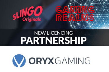 Slingo Originals To Be Distributed Through Oryx Gaming Via New Gaming Realms Partnership