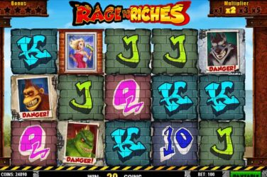 Rage To Riches - Casino Buzz Slot Of The Week 1st August 2020