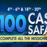 $100 Cash Safari Mission Casino Bonus