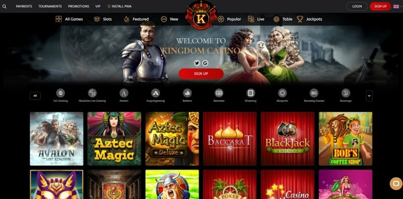 Kingdom Casino General Overview