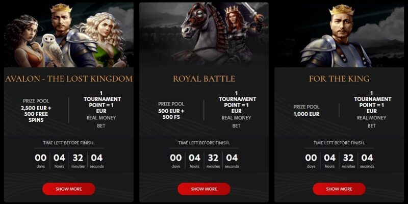 Kingdom Casino Tournaments