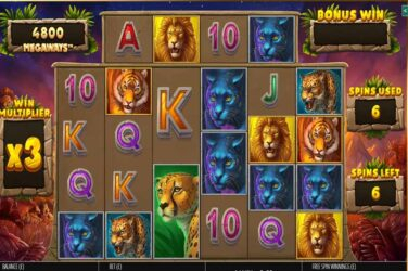 Big Cat King Megaways - New Megaways Slot From Blueprint Gaming