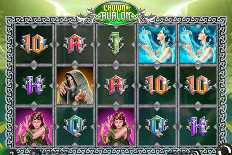 Crown Of Avalon - New Slot Release From Iron Dog Studio