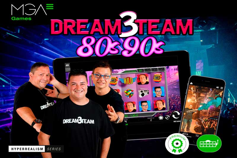 MGA Games Launch DREAM3TEAM Casino Slot In Spain