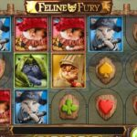 Play'n Go's Latest 20 Line Slot Feline Fury Is Live