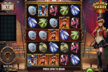 Play'n Go Release Golden Ticket 2 Online Slot