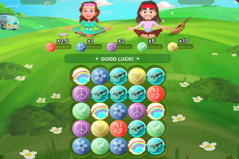 Hippie Days - New Slot Release From Skillzzgaming
