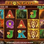 Lion Gold – Stakelogic's Brand New Mega Super Stake Slot