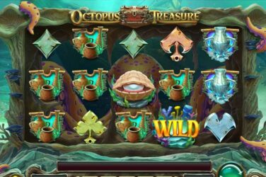 Octopus Treasure - New Play'n Go Online Slot