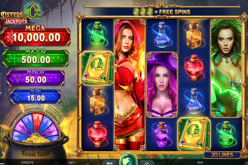 Sisters Of Oz Jackpot - Triple Edge Studios' Latest Slot Release